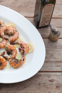 Lemony Herb-Grilled Jumbo Shrimp